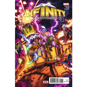 Infinity Countdown (2018) #1 VF/NM Nick Bradshaw Regular Cover