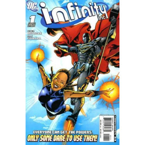 """INFINITY INC (2007) #'s 1-9 """"LUTHOR'S MONSTERS"""" & NEAR COMPLETE """"THE BOGEYMAN"""""""