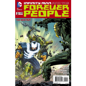 INFINITY MAN AND THE FOREVER PEOPLE (2014) #2 VF/NM THE NEW 52!