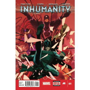 INHUMANITY (2013) #1 OF 4 VF/NM