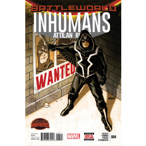 INHUMANS: ATTILAN RISING (2015) #4 VF/NM SECRET WARS BATTLEWORLD TIE-IN