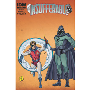 INSUFFERABLE (2015) #2 VF/NM SUBSCRIPTION VARIANT COVER MARK WAID IDW