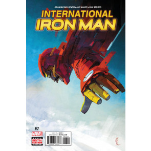 International Iron Man (2016) #'s 1 2 3 4 5 6 7 Complete VF/NM Set Bendis Maleev