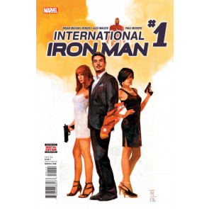 International Iron Man (2016) #1 VF/NM Bendis Maleev