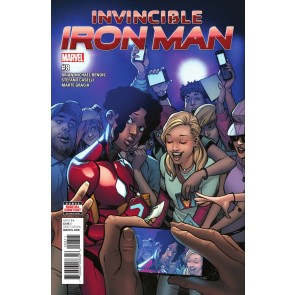 Invincible Iron man (2016) #8 VF/NM RiRi