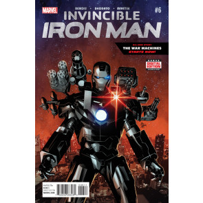 Invincible Iron Man (2015) #6 VF- War Machine