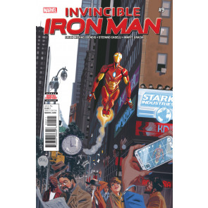 Invincible Iron Man (2016) #9 VF/NM