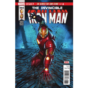 Invincible Iron Man (2016) #593 VF/NM