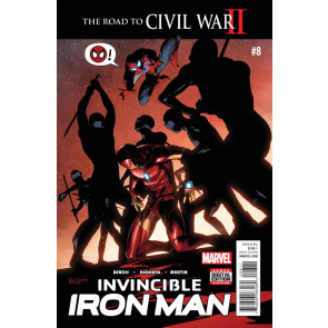 Invincible Iron Man (2015) #8 VF/NM (9.0)