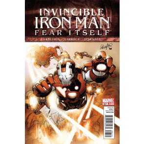 Invincible Iron Man (2008) #507 VF/NM Fear Itself