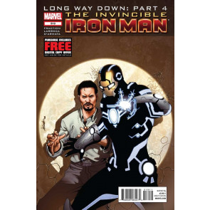 Invincible Iron Man (2008) #519 VF/NM Long Way Down: Part 4