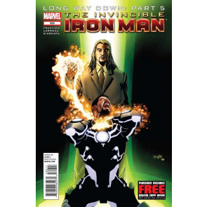 Invincible Iron Man (2008) #520 VF+ - VF/NM Long Way Down: Part 5