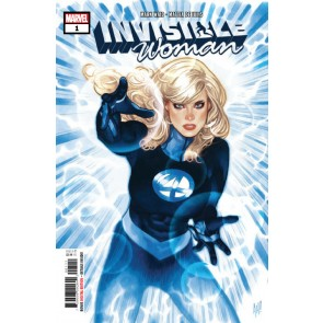 Invisible Woman (2019) #1 VF/NM Adam Hughes Cover Fantastic Four