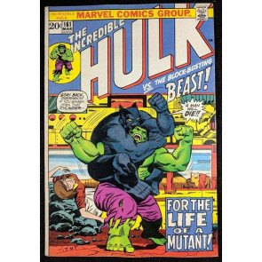 Incredible Hulk (1968) #161 VF- (7.5)  early Beast app