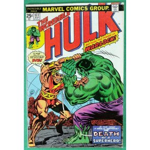Incredible Hulk (1968) #177 FN+ (6.5) Death of Warlock