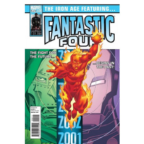 IRON AGE #2 OF 3 NM FANTASTIC FOUR APP JOHNNY STORM