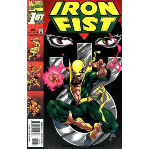 "Iron Fist (1998) #'s 1 2 3 Complete ""In the Fold"" VF/NM Set"