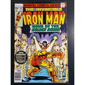 Iron Man #107 (1978) VF+ 8.5