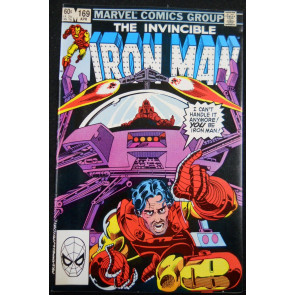 IRON MAN #169 NM- NEW IRON MAN JIM RHODES REPLACES TONY STARK