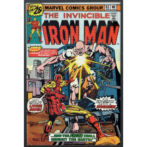 Iron Man (1968) #85 FN (6.0) vs The Freak