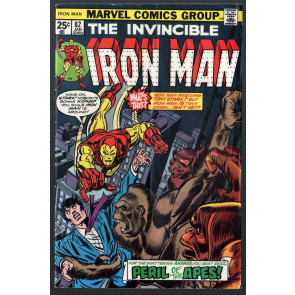 Iron Man (1968) #82 VG/FN (5.0) vs Red Ghost part 1