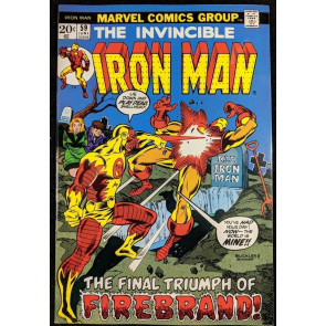 Iron Man (1968) #59 NM- (9.2)  vs Firebrand