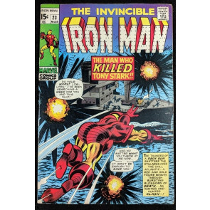 Iron Man (1968) #23 FN/VF (7.0)