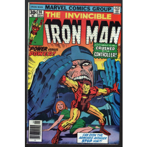 Iron Man (1968) #90 FN (6.0) vs Controller part 1