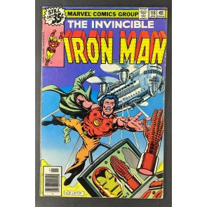 Iron Man (1968) #118 FN+ (6.5) 1st App James Rhodes Bob Layton Art