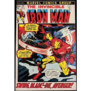 Iron Man (1968) #51 VF (8.0)