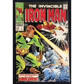 Iron Man (1968) #4 FN- (5.5) versus Unicorn