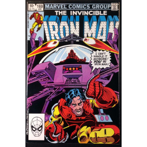 Iron Man (1968) #169 VF- (7.5) Jim Rhodes becomes Iron Man