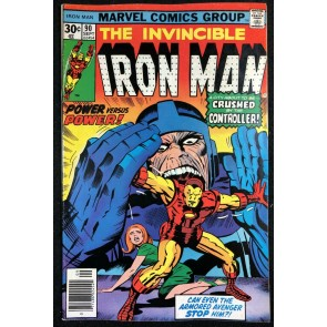Iron Man (1968) #90 FN/VF (7.0) vs Controller Kirby Cover