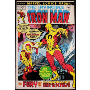 Iron Man (1968) #48 VF+ (8.5)  vs Firebrand