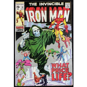 Iron Man (1968) #19 VF+ (8.5)  Captain America app