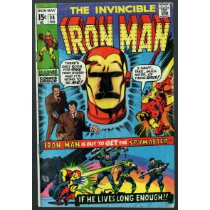 Iron Man (1968) #34 GD (2.0)