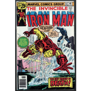 Iron Man (1968) #87 FN/VF (7.0) vs Blizzard