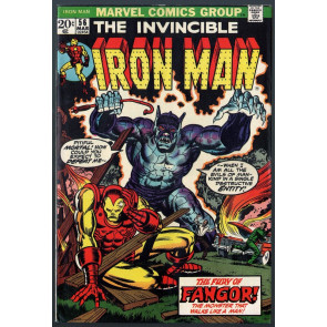 Iron Man (1968) #56 FN (6.0) Jim Starlin art