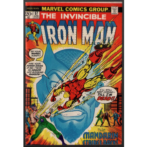 Iron Man (1968) #57 FN- (5.5) Mandarin & Unicorn app.