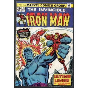 Iron Man (1968) #70 FN- (5.5) Sunfire Mandarin & Yellow Claw