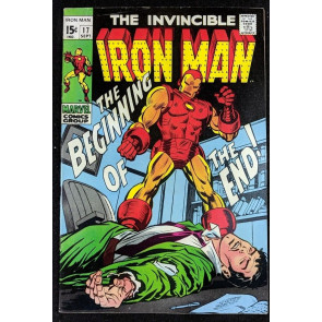 Iron Man (1968) #17 FN/VF (7.0)  1st app Madame Masque
