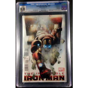 Iron man (1968) #500 CGC 9.8 Salvador Larroca cover (0992245005)