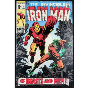 Iron Man (1968) #16 VF (8.0)  vs Unicorn