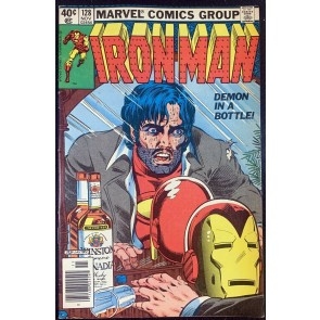 Iron Man (1968) #128 FN+ (6.5) Demon In A Bottle Classic Cover
