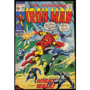 Iron Man (1968) #40 FN/VF (7.0)