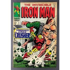 Iron Man (1968) #6 FN+ (6.5) Crusher George Tuska Cover & Art