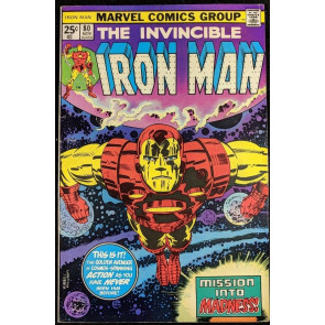 Iron Man (1968) #80 FN+ (6.5)  Jack Kirby cover