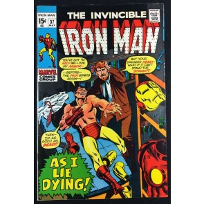 Iron Man (1968) #37 VF- (7.5)