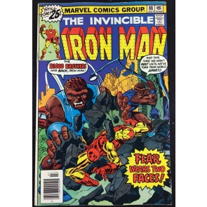 Iron Man (1968) #88 FN/VF (7.0) Thanos cameo