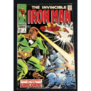 Iron Man (1968) #4 FN (6.0) vs Unicorn